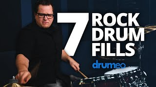 7 Rock Drum Fills for Beginners