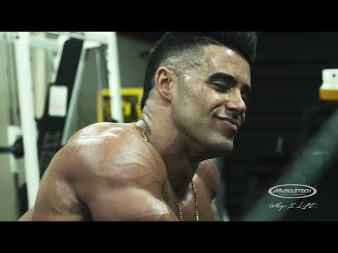 #WhyILift - IFBB Pro Santi Aragon - Bodybuilding Motivation and Training (Part 2 of 5)