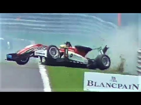 CRASHES + ACTION! Formula 3 European Championship at 24H of Spa-Francorchamps 2017
