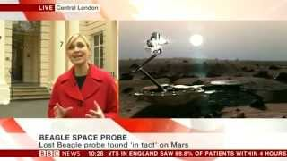 Beagle 2 Lander Found On Mars
