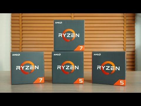 AMD'de Yeni Dönem Ryzen Işlemciler