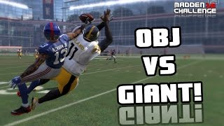 CAN I RECREATE THE ODELL BECKHAM CATCH OVER A GIANT?? Madden 16 Challenge