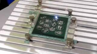 Лазерная резка и гравировка металла www.newlaser.ru(Изготовления сувениров со знаками зодиака на выставке Фотоника 2010., 2010-05-28T05:52:14.000Z)