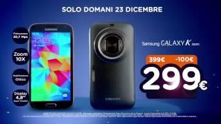 Spot - Unieuro Natalissimi - Samsung Galaxy K zoom