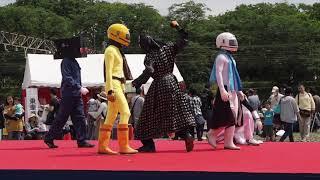 わくわく鉄道フェスタ 埼玉ご当地ヒーローズ ヒーローショー