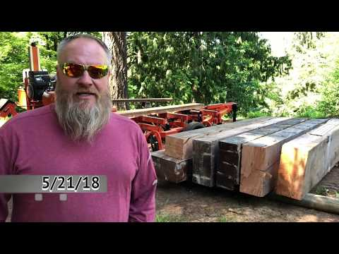 Earning money with my Wood-Mizer LT 35 part two