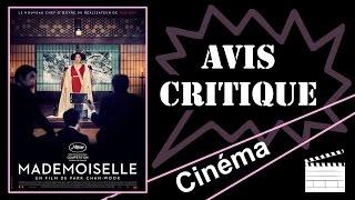 Avis Critique - Mademoiselle de Park Chan Wook !