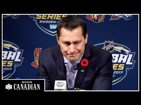 Nov 11: Sens vs. Avalanche - Boucher Post-game