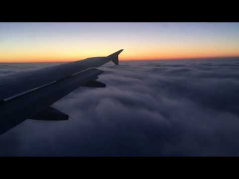 Flying into Basel