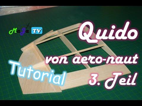 tutorial modellflugzeug aus holz selber bauen teil 3 5 tragfl che bauen maja tv 67. Black Bedroom Furniture Sets. Home Design Ideas