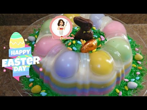 Gelatina para Pascua / Easter Jello 🐰🐇 - YouTube