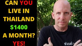 LIVE IN THAILAND $1400 A MONTH V479