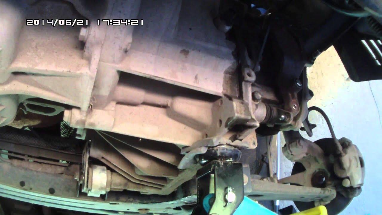 Форд фиеста замена сцепления своими руками