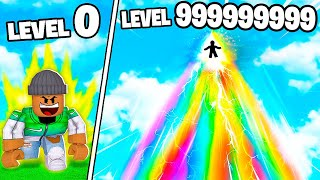 I JUMPED 999,999,999 FEET in Roblox..