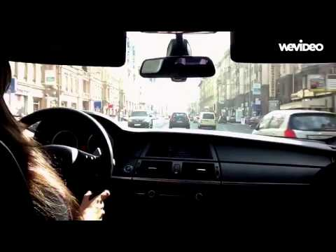 Girlfriend driving BMW X6 M