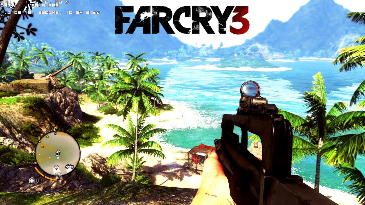 Pc Far Cry 3 Gameplay Ultra Settings Gtx 660 Ti I7 2600k