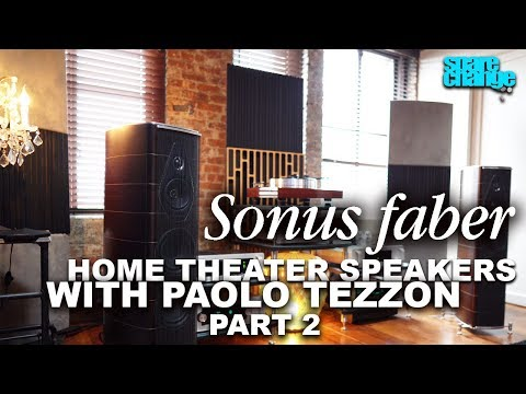 sonus-faber-home-theater-speakers-with-paolo-tezzon-|-olympica-nova,-sonetto,-gravis