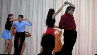 Aviation High School Talent Show - Latin Dance