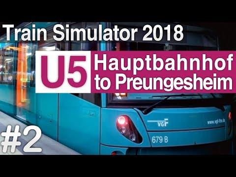 [TS 2018] U-Bahn Frankfurt: U5 to Preungesheim