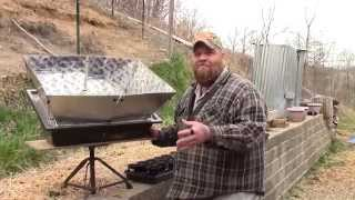 Cooking Off Grid Chicken And Dumplings