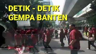 FULL!!! Detik Detik Gempa Di Banten