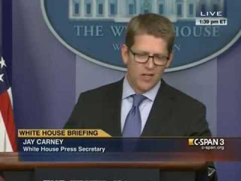 Jay Carney Calls Out Fox News' Ed Henry for Use of Shooting Metaphor