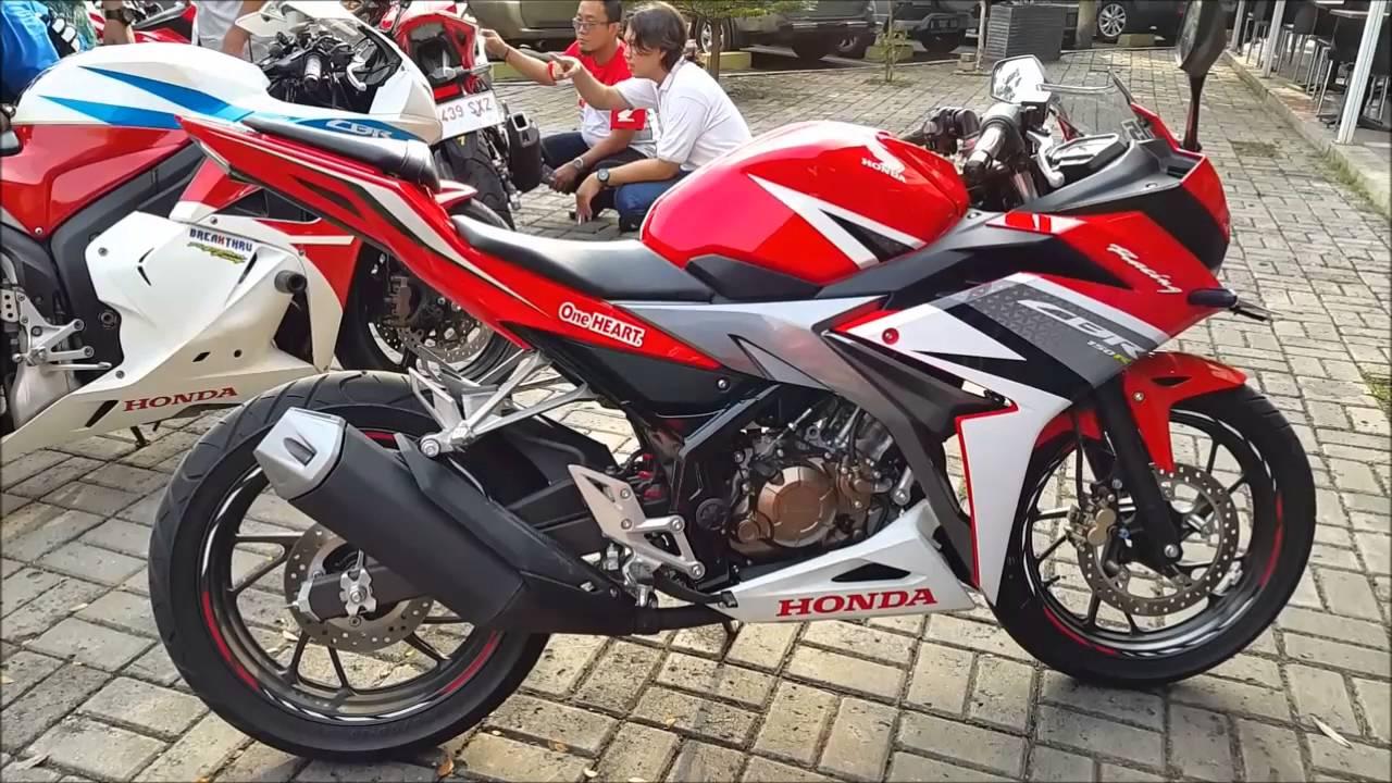 102 Modifikasi Motor Cbr 150r Terbaru Honda Cb Frame Slider All New 150 R Cbr150r 2016 Spatbor Belakang Youtube