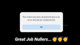 He Nulled Before The Match...👏 New Type Of Nullers #Shorts