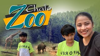 Chalo Zoo Tour | Happy time | Tiger | Elephant| Day outing with son| Vlog| Sushma Kiron
