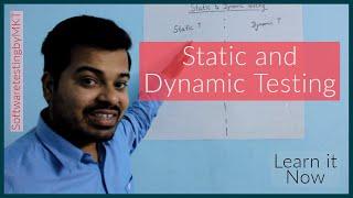 Static and Dynamic Testing | SoftwaretestingbyMKT