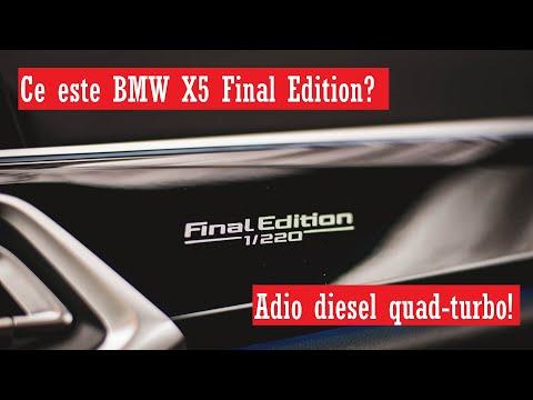 Ce este BMW X5 Final Edition?