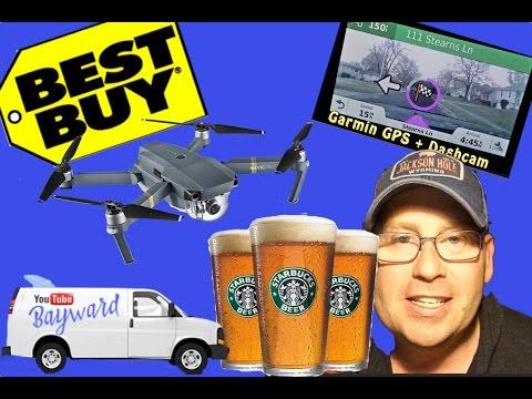 Starbucks Beer, Marijuana, DJI Drone, GoPro Karma, Garmin GPS, Sonic Burger. Corporations love me!