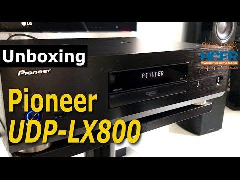 HCFR Pioneer UBP-LX800 Unboxing