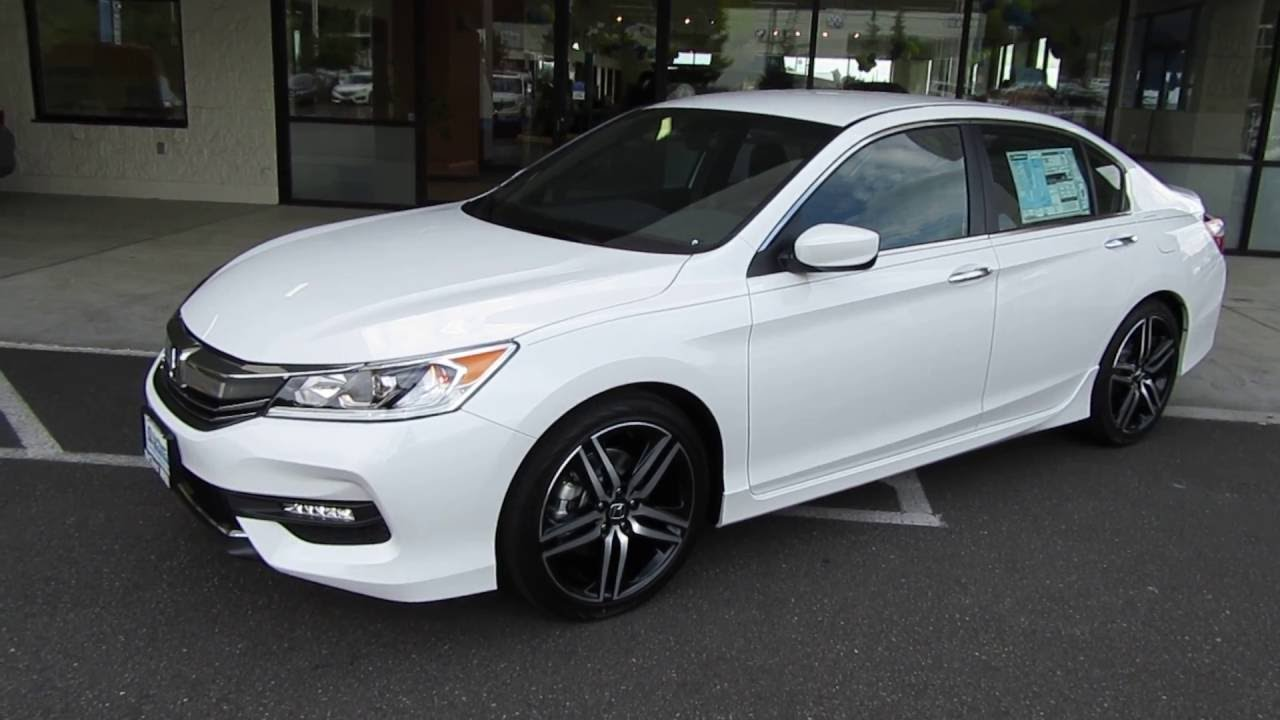 2017 Honda Accord SPORT SPECIAL EDITION Review (Bellingham, WA)   YouTube