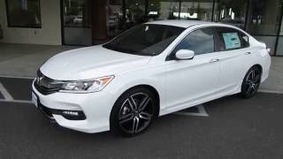 2017 Honda Accord SPORT SPECIAL EDITION Review (Bellingham, WA)