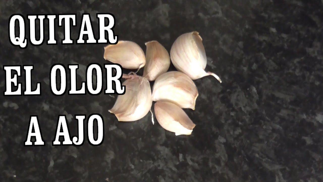 como quitar el exceso de sabor a ajo en la comida