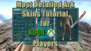 Video Most detailed Ark skins tutorial for xbox if you are having issues. download MP3, 3GP, MP4, WEBM, AVI, FLV Juni 2017