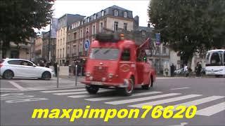 Défilé d'ancien véhicules de pompiers / ROUEN (76)