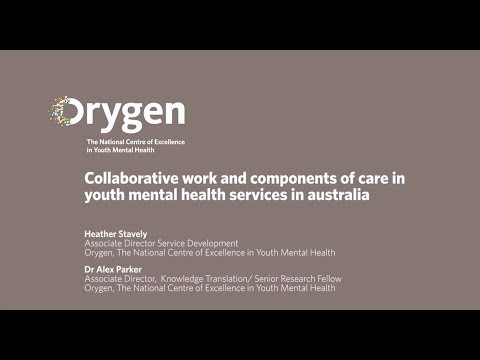 Collaborative Work & Components of Care in Youth Mental Heal