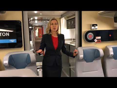 A Sneak Peek Inside Amtrak's New Acela
