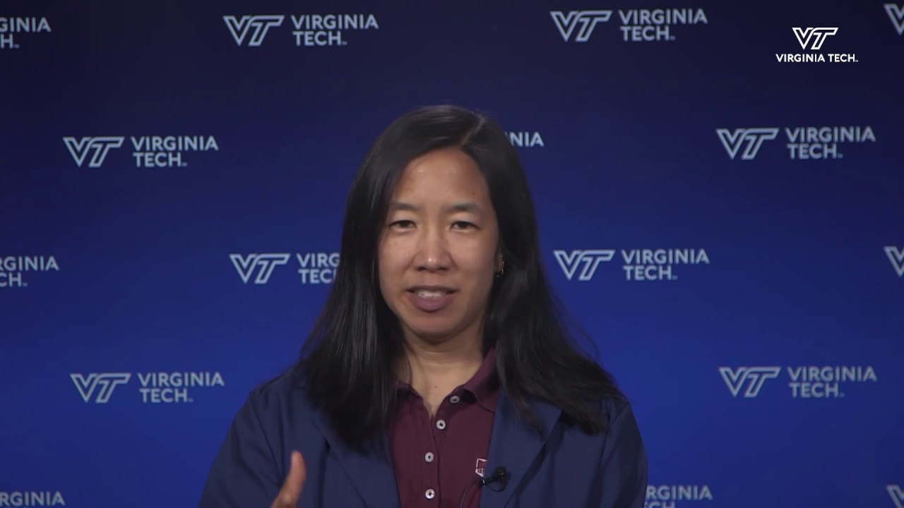 Linsey Marr, Virginia Tech professor of civil and environmental engineering