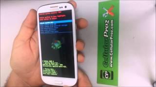 Como resetear a modo fabrica el Samsung Galaxy S3 ★ Hard Reset