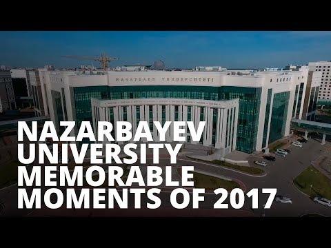 Nazarbayev University Memorable Moments of 2017