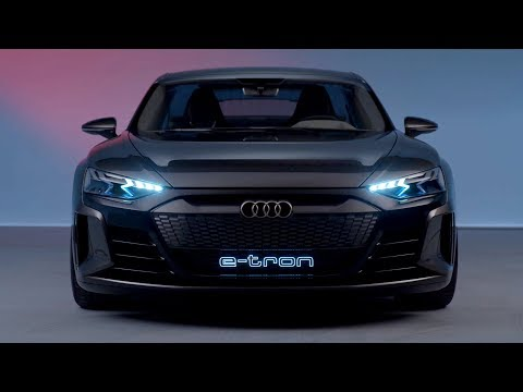 Audi E Tron Gt Concept Exterior Interior Youtube