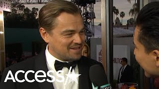 Leonardo DiCaprio Offers To Give Brad Pitt Dance Tips: 'He Can Take Lessons From Me'