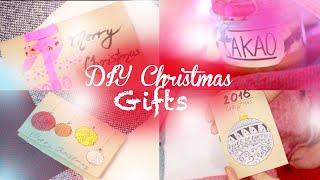 CHRISTMAS DIY: Открытки и Подарки Родным на Новый Год / Рождество ❄️ Happy New Year Postcards & Gift