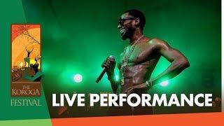 D'Banj - Fall in love Live at The Koroga Festival