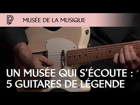 5 guitares de légende @ Cité de la musique