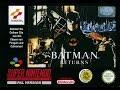 Batman Returns SNES Gameplay Walkthrough - Scene 1 (Ambush In Gotham Plaza)