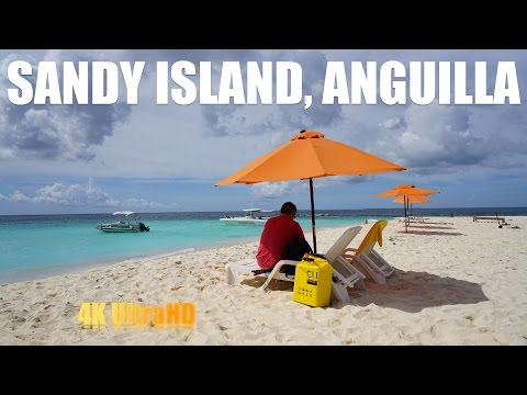 Captain IrixGuy on Sandy Island, Anguilla
